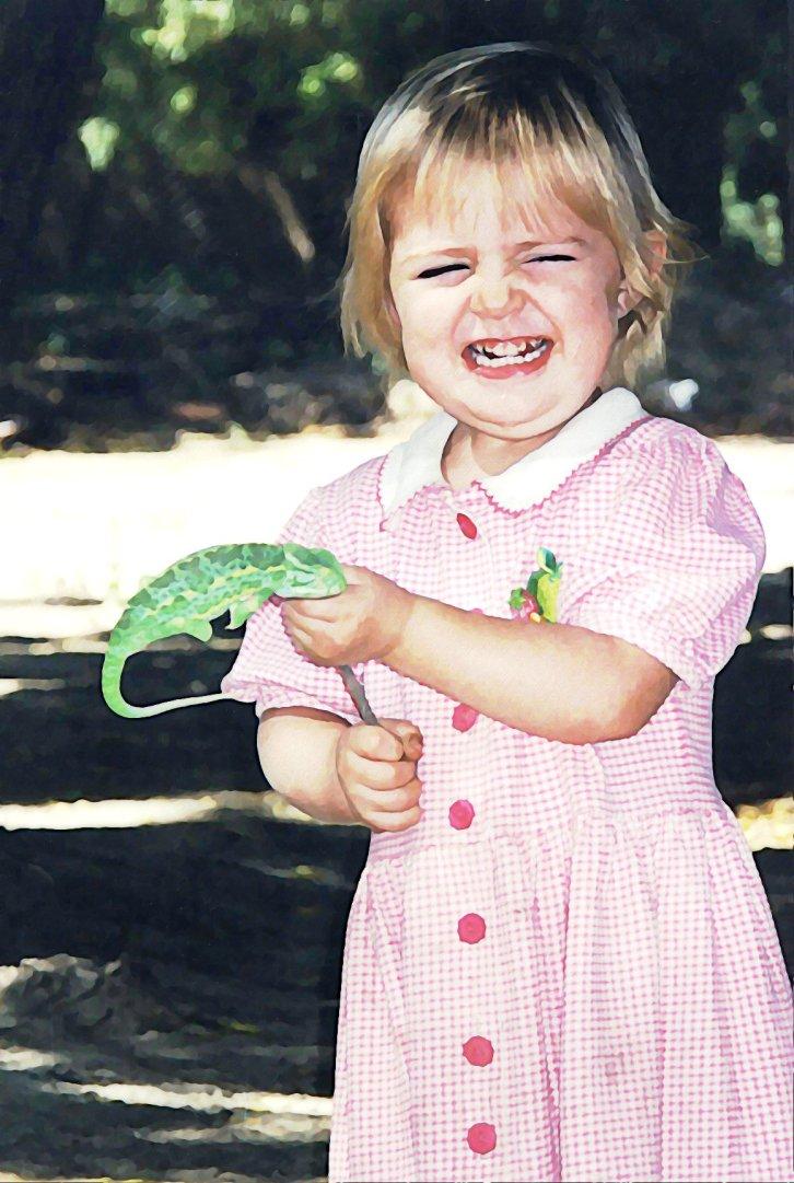 lillyandherchameleon