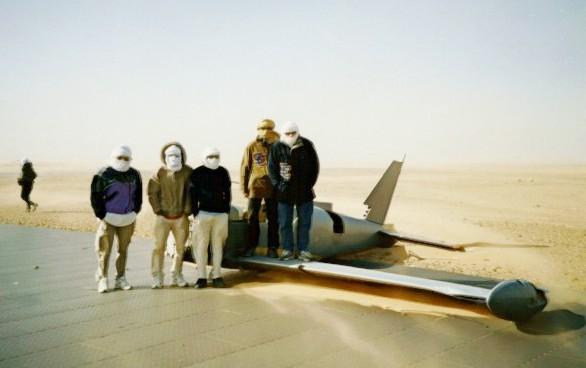 planes in the desert